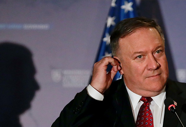 不愿为反华站台,教皇拒绝接见美国务卿蓬佩奥图片