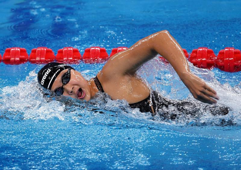 【全国游泳冠军赛】还是体能拖后腿,王简嘉禾第四次无缘决赛