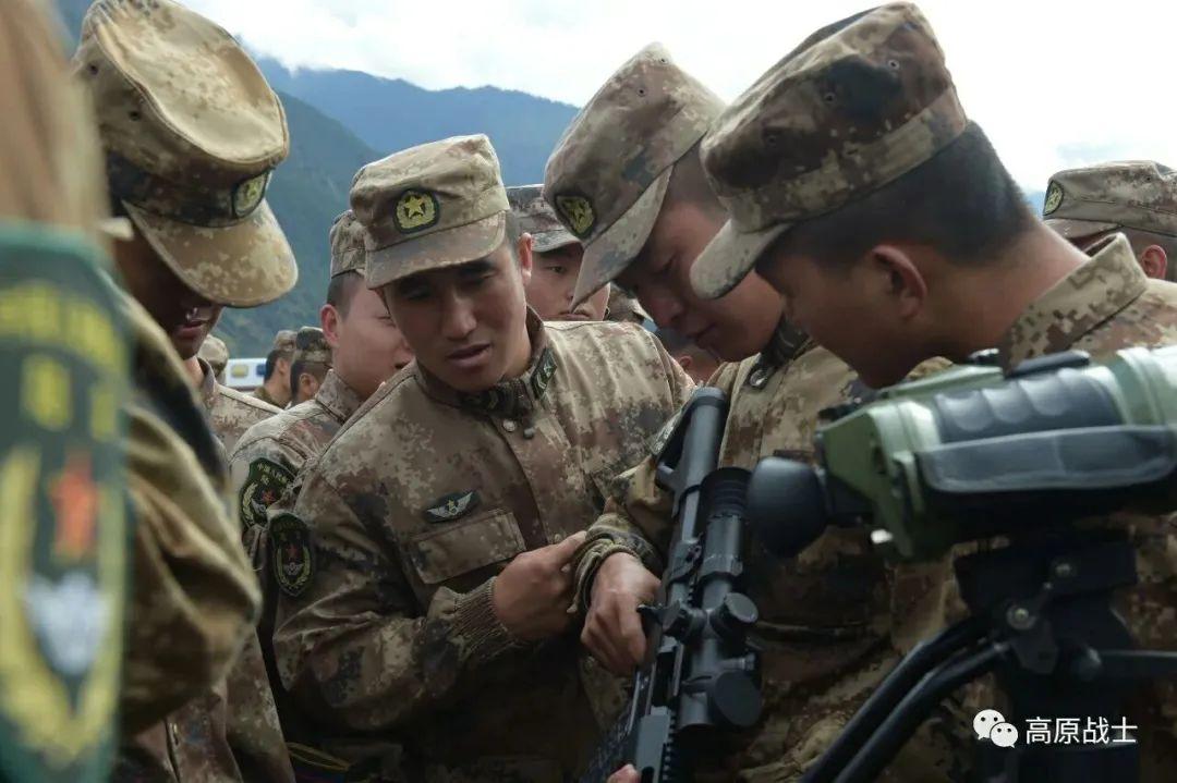 单兵装备空前提升!西藏军区换装新型精确步枪