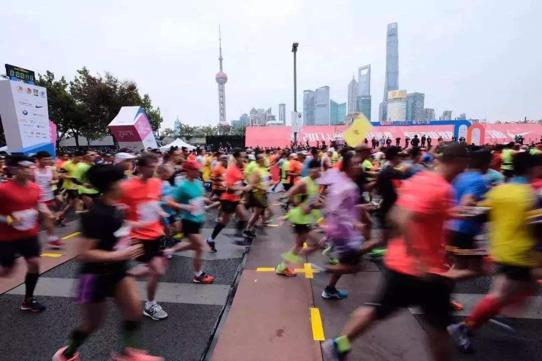 上海马拉松。图片来源网络