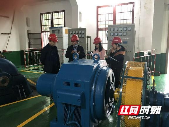 水利部专家组到茶陵县开展农村水电增效扩容改造绩效评价复核工作
