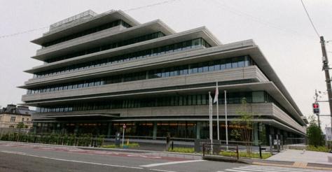 ▲ 京都府警察总部(京都信休)