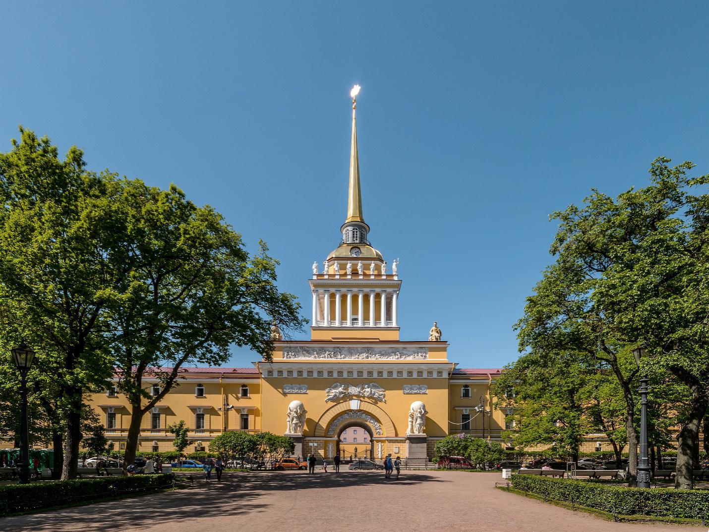 圣彼得堡的海军部大楼