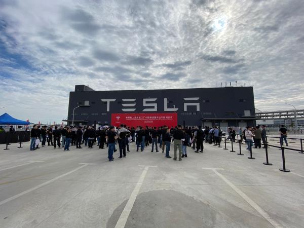 约7000辆中国造Model3临港启程,销往欧洲