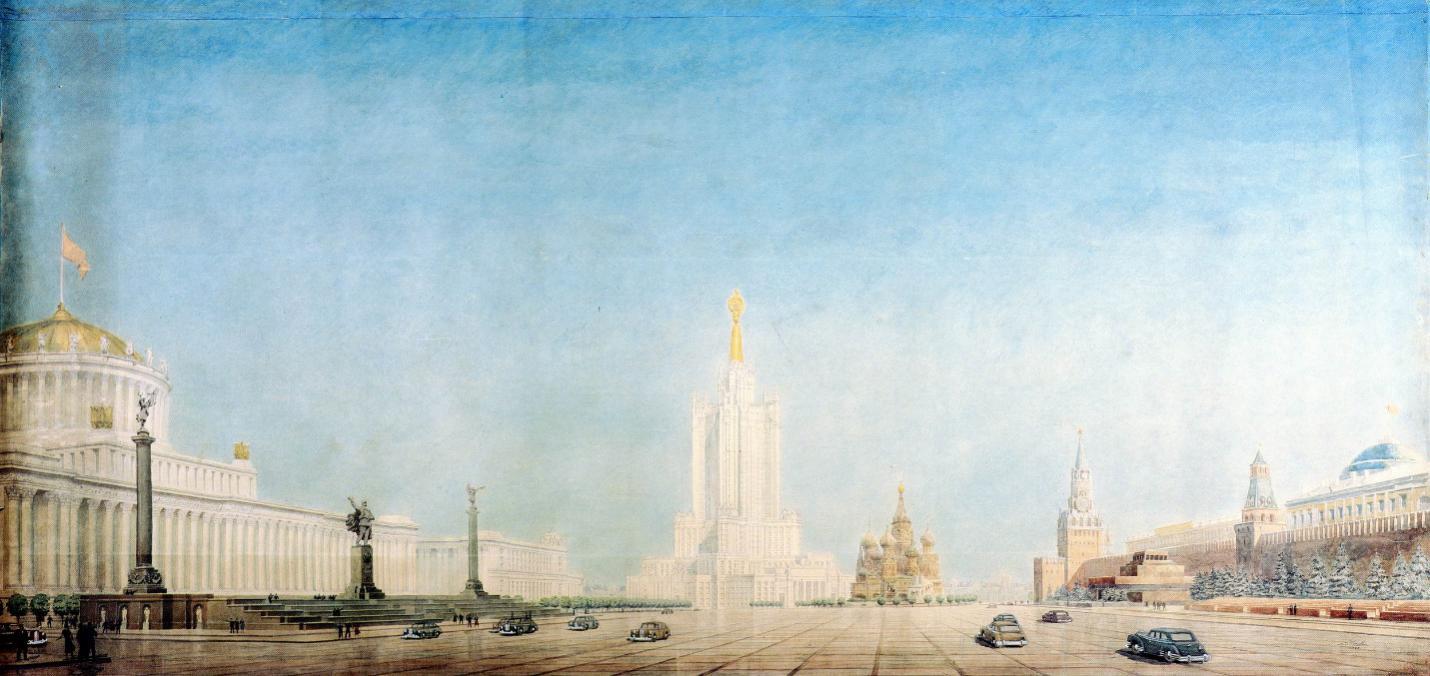 """红场也要改造,在圣瓦西里大教堂边上造首第八个""""莫斯科姐妹"""""""