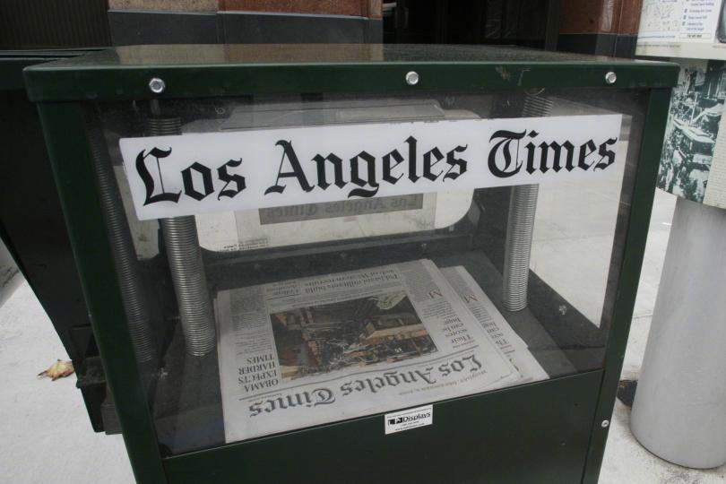 洛杉矶时报(原料图)