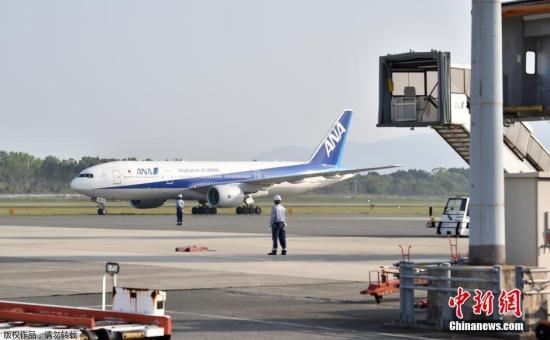 原料图:日本镇日空客机。