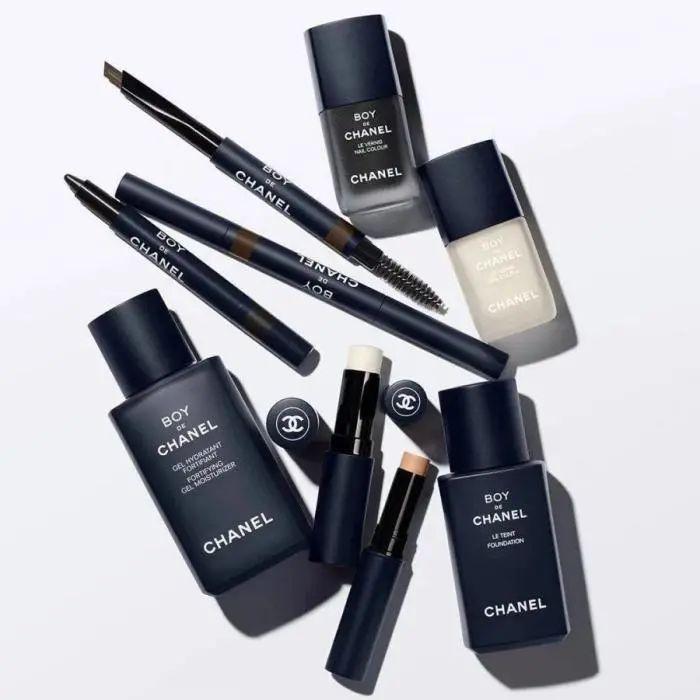 香奈儿推出的男士化妆品系列。图片来源:香奈儿CHANEL微信公多号