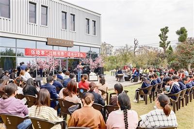 """""""江畔书香""""读书分享会在张晓寒纪念馆举办"""