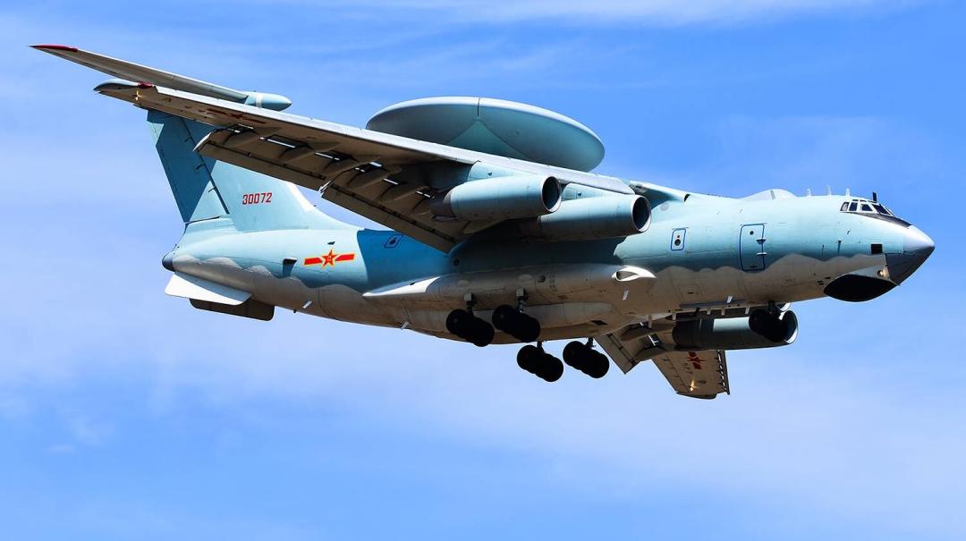 解放军空警2000 原料图
