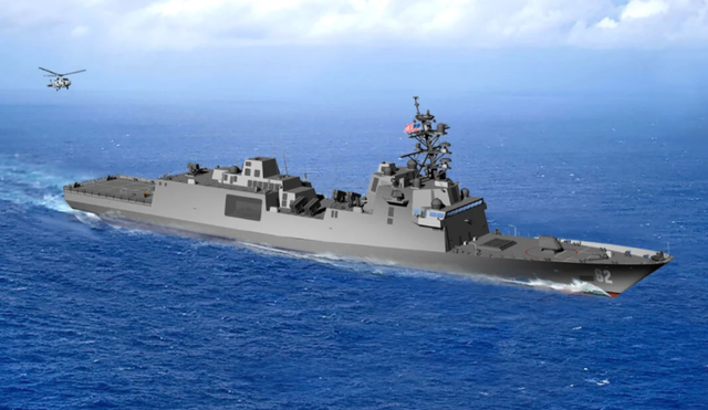 """""""星座""""级护卫舰,也就是之前传的那个FFGX 图源:美国海军"""