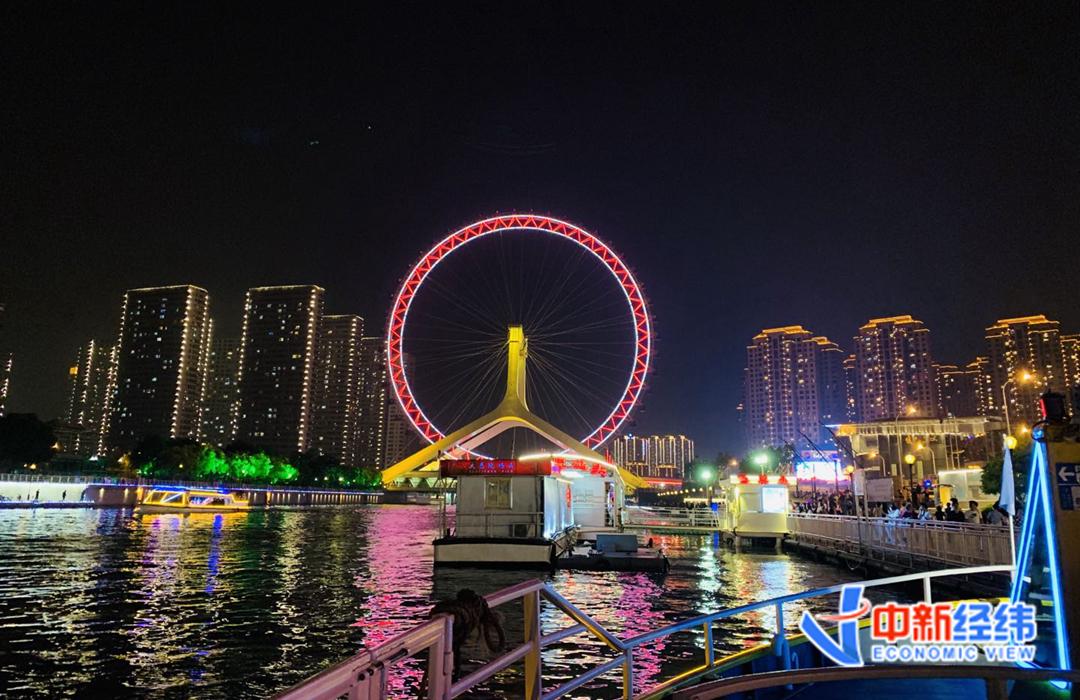 资料图:天津之眼 中新经纬 张澍楠 摄