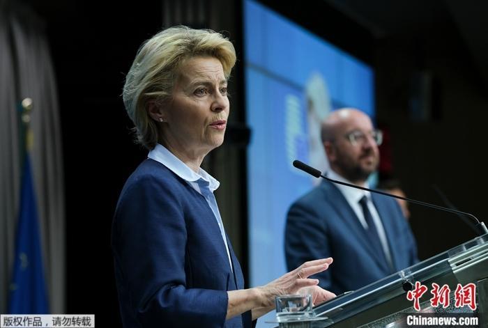 因接触确诊患者 欧盟委员会主席冯德莱恩将自我隔离