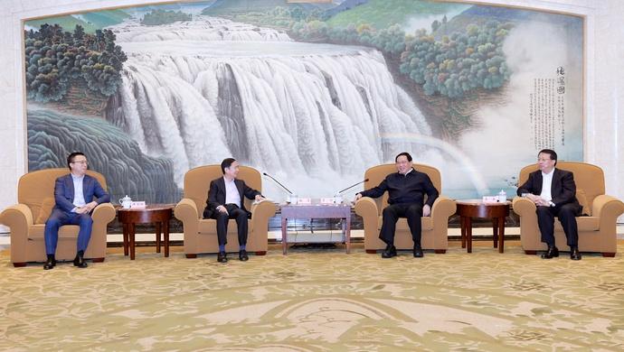 上海与阿里巴巴、蚂蚁集团签约 李强龚正会见张勇井贤栋