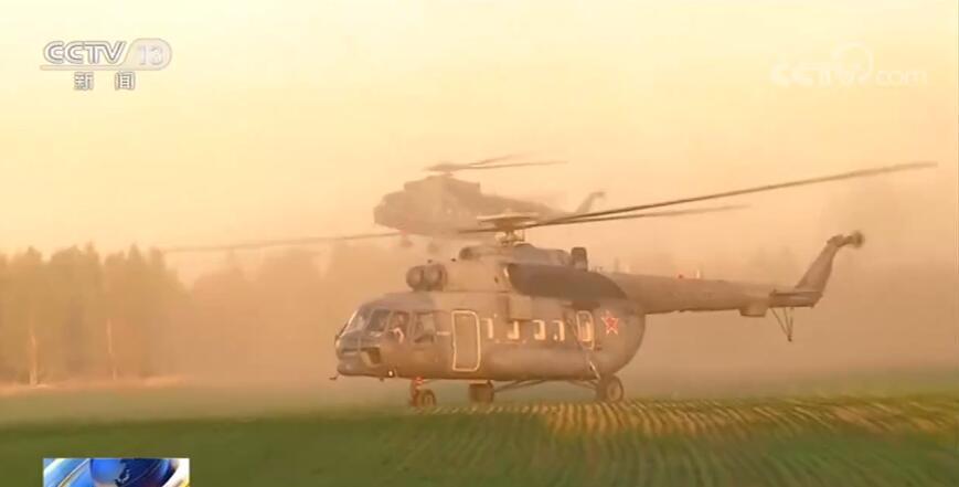 俄爆炸军火库火势蔓延已被控制 2300余名居民被撤离