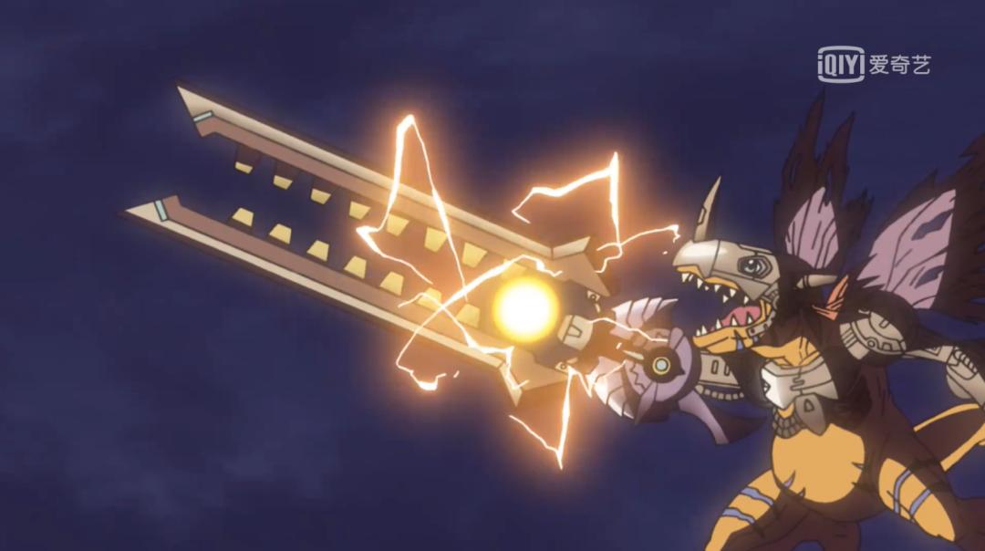 《数码宝贝》:兽人加鲁鲁武装钢化,还有谁不会飞?