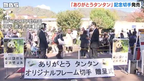 """旅日20年熊貓將回國 日本用這種方式""""讓它永遠留下"""""""