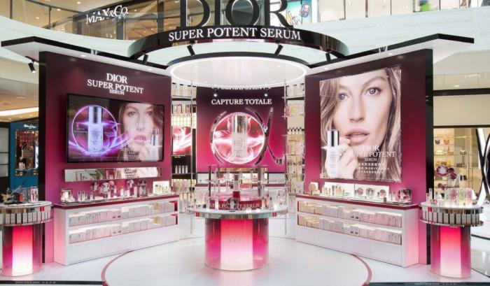 (Dior香水在海南,图源:LVMH官网)