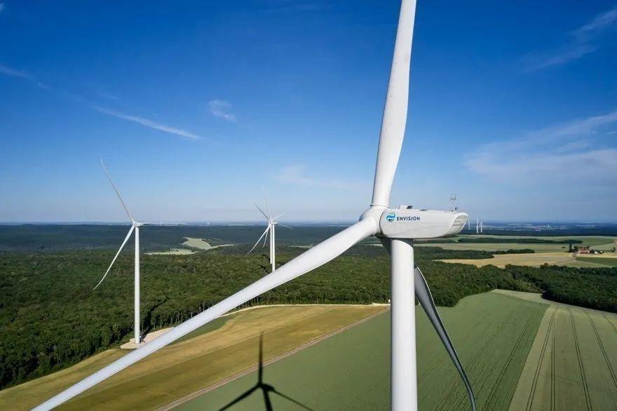 远景在法国勃艮第地区投运的风电场
