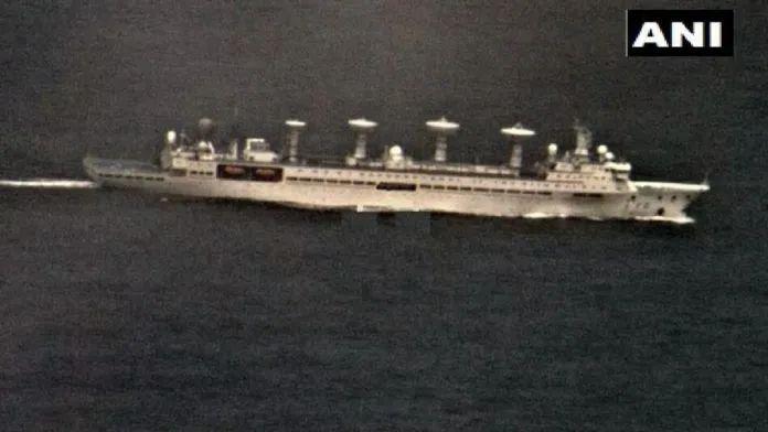 """神经过敏?印军称中国科考船收集其行动""""关键数据"""""""