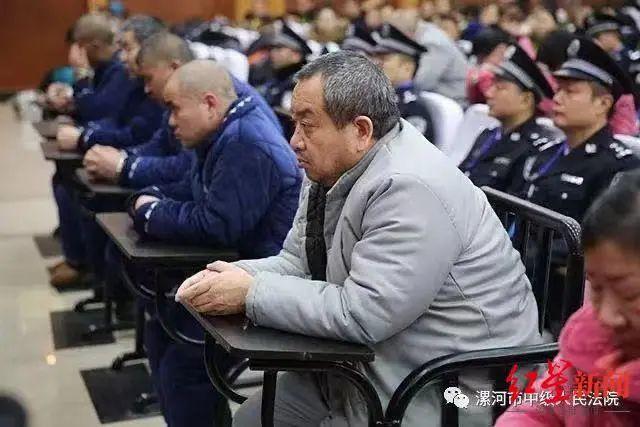 """2018年12月""""村霸""""李耀勇被判处有期徒刑23年 图据中央政法委微信"""