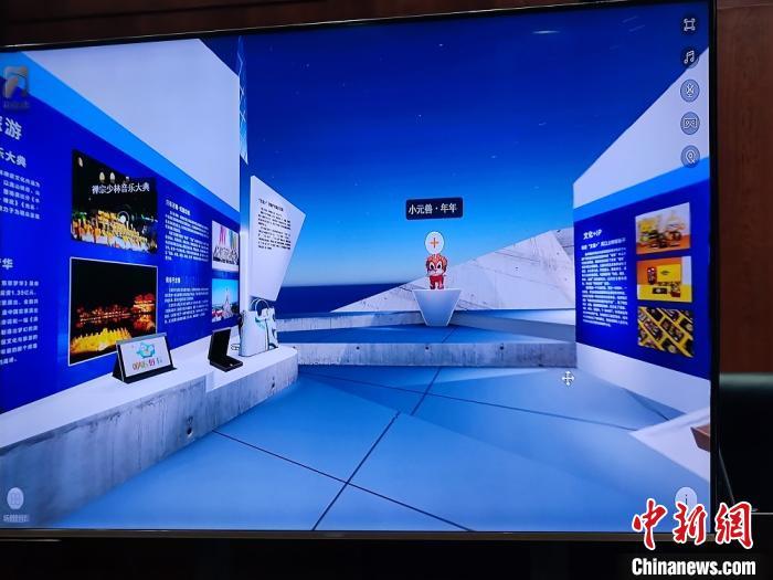 图为深圳文博会河南馆展示。 阚力 摄