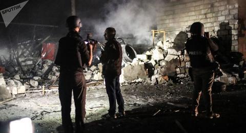 150名亚美尼亚武士遗体从舒沙地区运出(俄罗斯卫星通讯社)