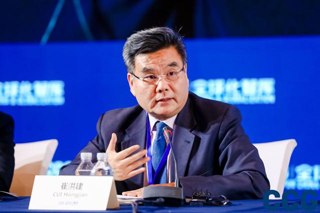 中国国际题目钻研院欧洲钻研所所长、钻研员崔洪建 全球化智库(CCG)供图