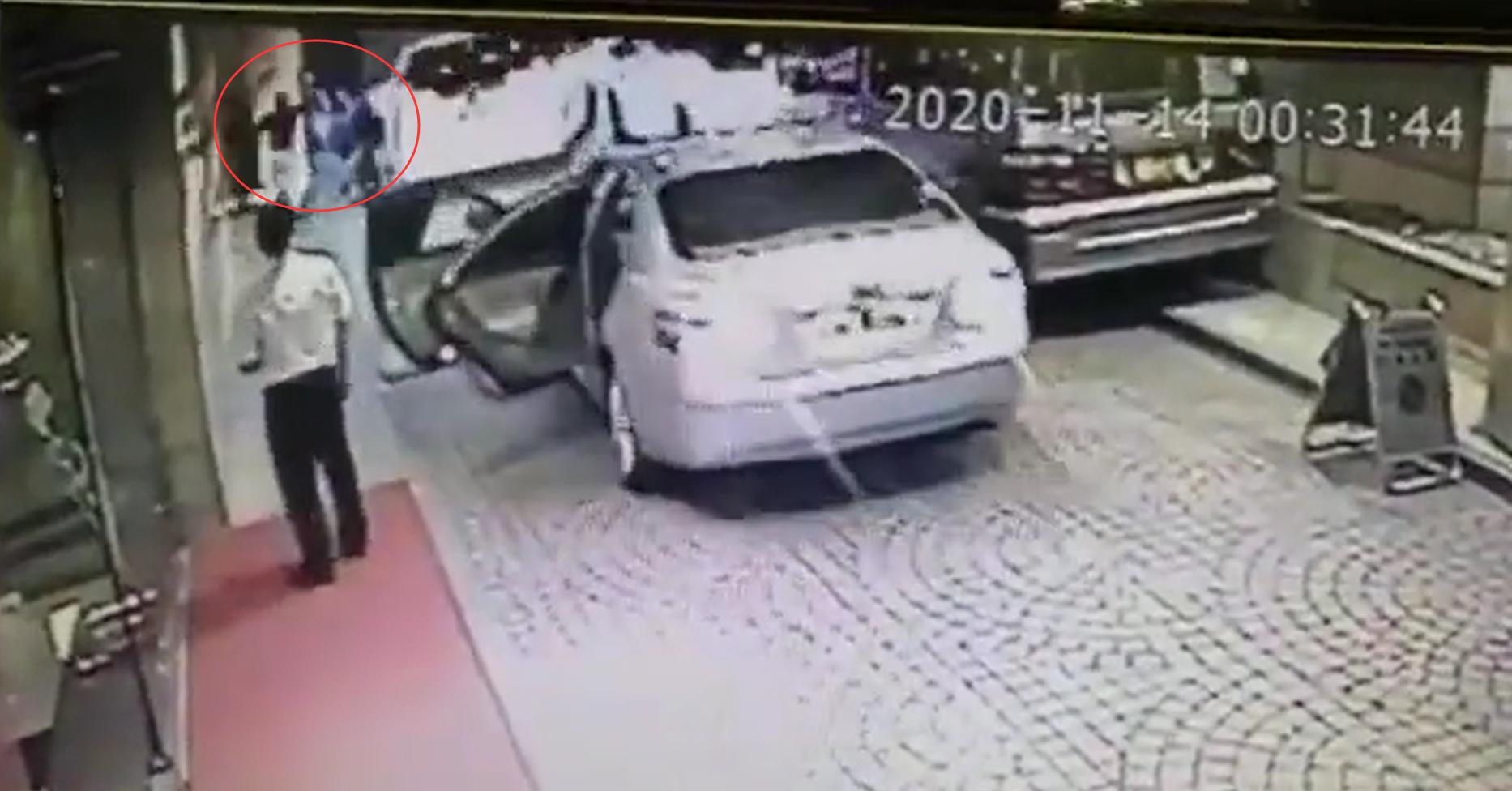 港媒:内地富豪遇袭片段曝光,行凶过程不足10秒