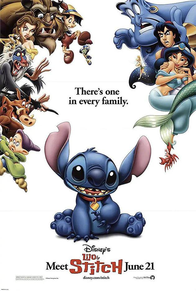 迪士尼将拍真人《星际宝贝》,华裔导演有望执导