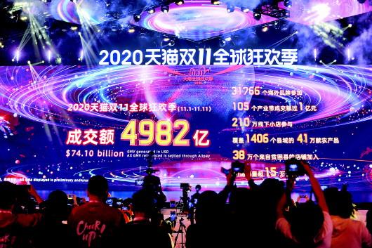 """新華每日電訊:從""""雙11""""看中國經濟新力量 雙循環激發內需動力"""