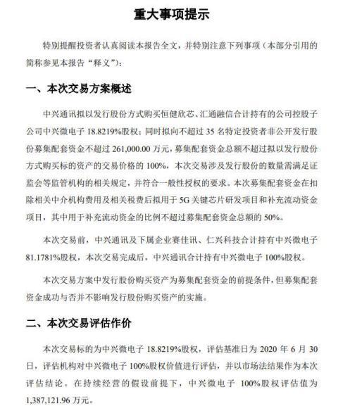 《【万和城注册平台】Q3净利降34% 中兴通讯拟完全持股中兴微电子》