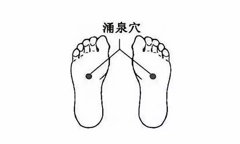 脚心为涌泉穴所在,药敷可以治疗多种疾病