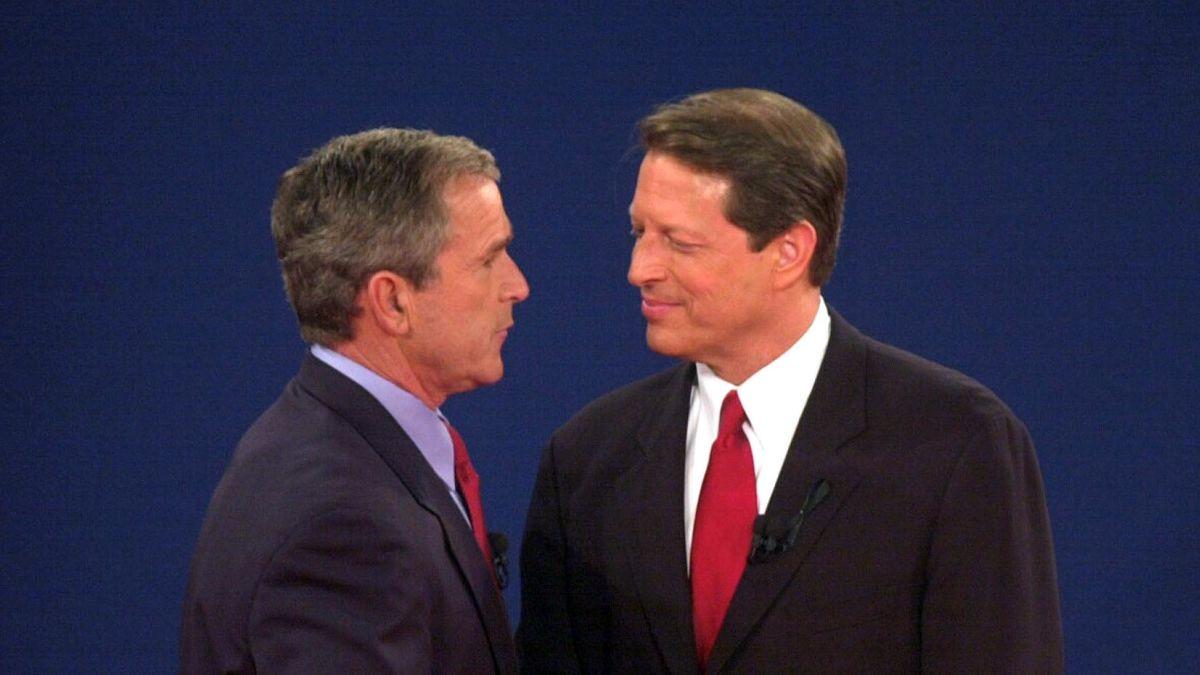 2000年大选时,佛罗里达州对幼布什与戈尔的重新计票决定了大选归属