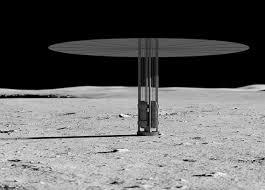 月球核裂变动力系统效果图(美国国家航空航天局网站)