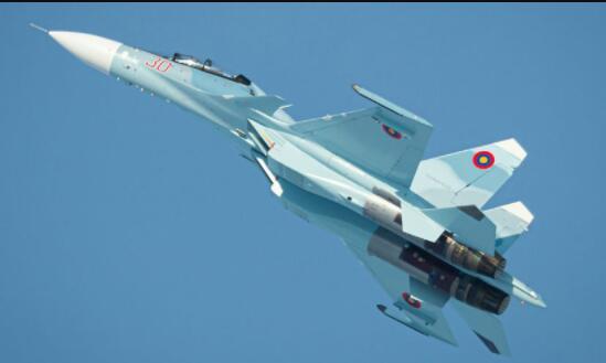 亚美尼亚装备的俄制苏-30SM战机,图源:外交网站