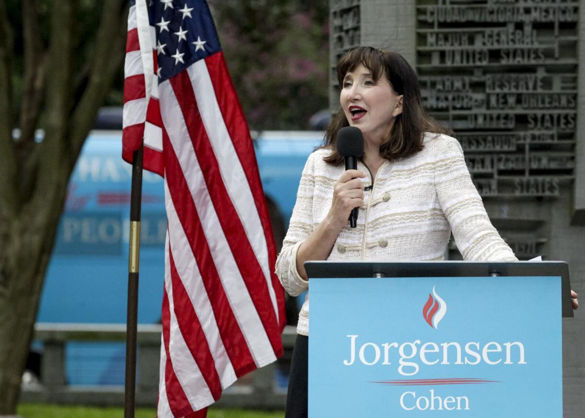 美国自由党总统候选人乔·乔根森