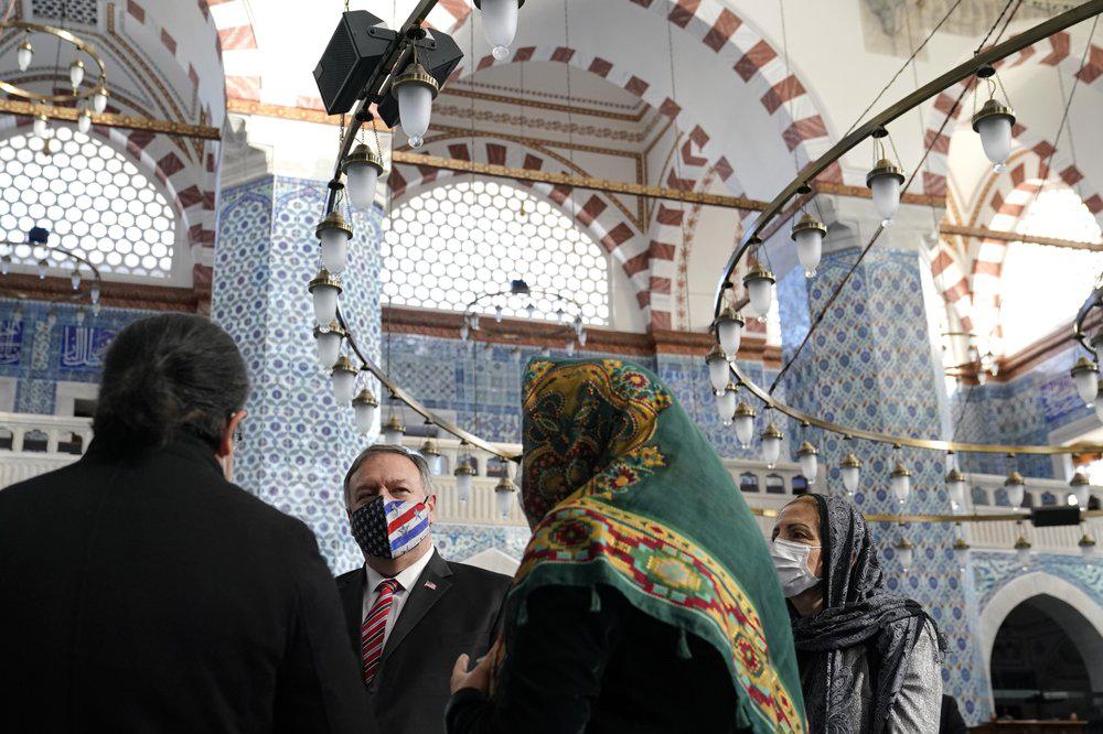 欧洲中东七国之旅结束 蓬佩奥留下的不只是尴尬