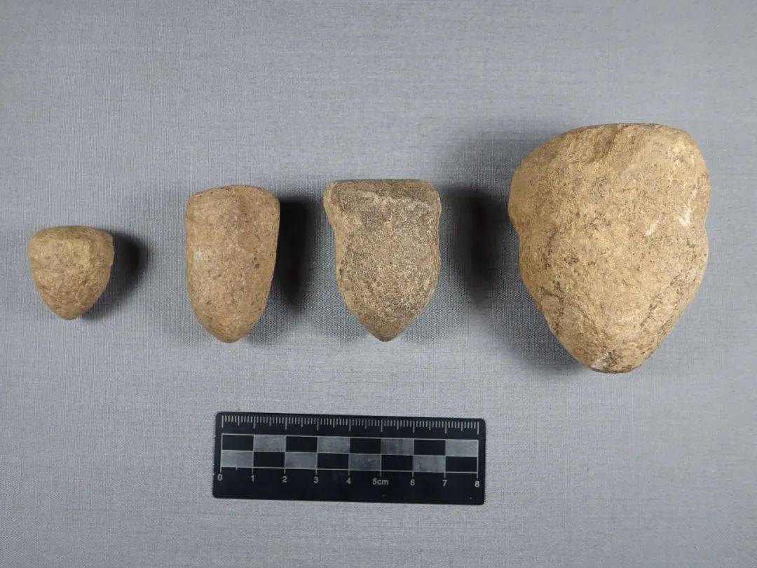 黄山遗址系列石钻