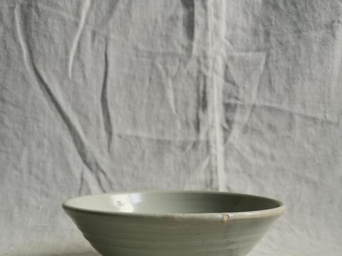 元代卵白釉小碗