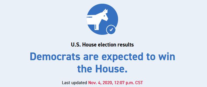 """美国""""政客""""消休网:民主党有看拿下多议院"""