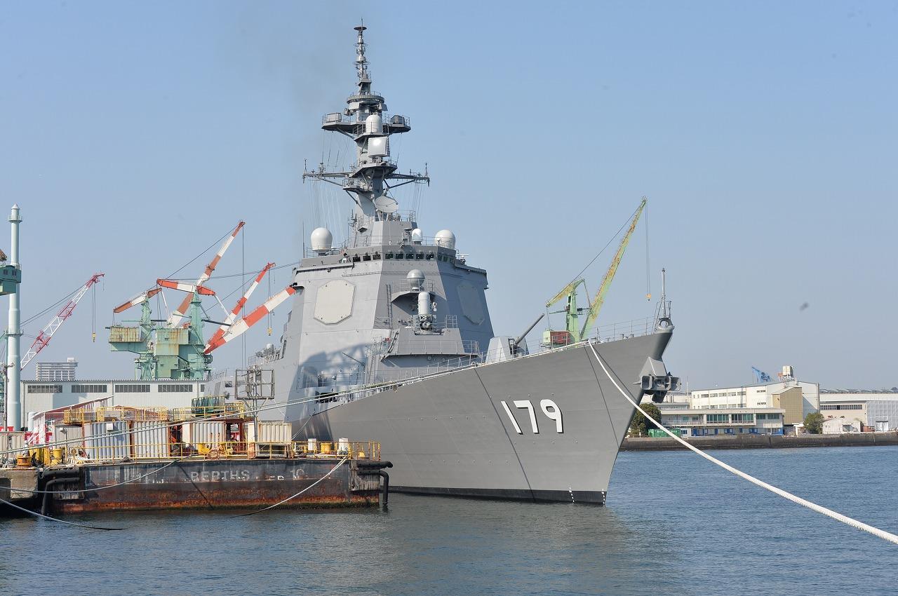 """日本最大宙斯盾舰""""摩耶""""号 图自日本海上自卫队网站"""