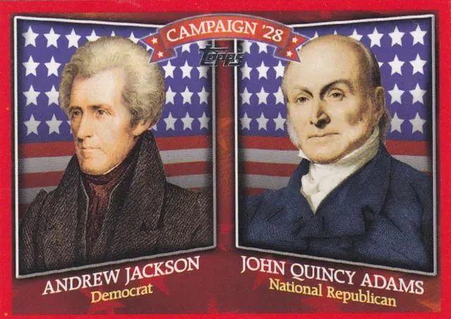 ▲1824年大选总统候选人。推特截图