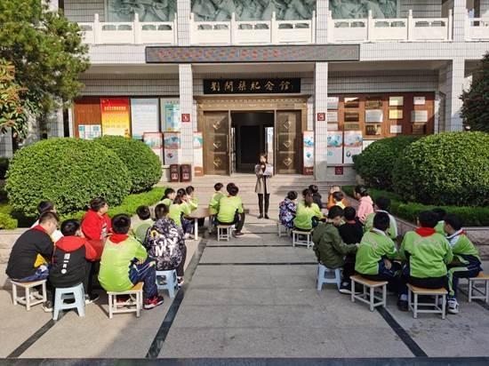 """市刘开渠纪念馆举办""""二十四节气知多少----立冬""""主题社教活动"""