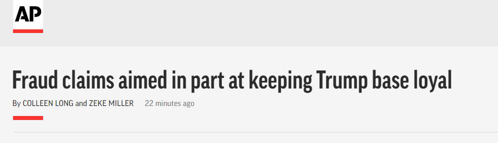 特朗普今早连发6条,暴露了他的颠覆策略