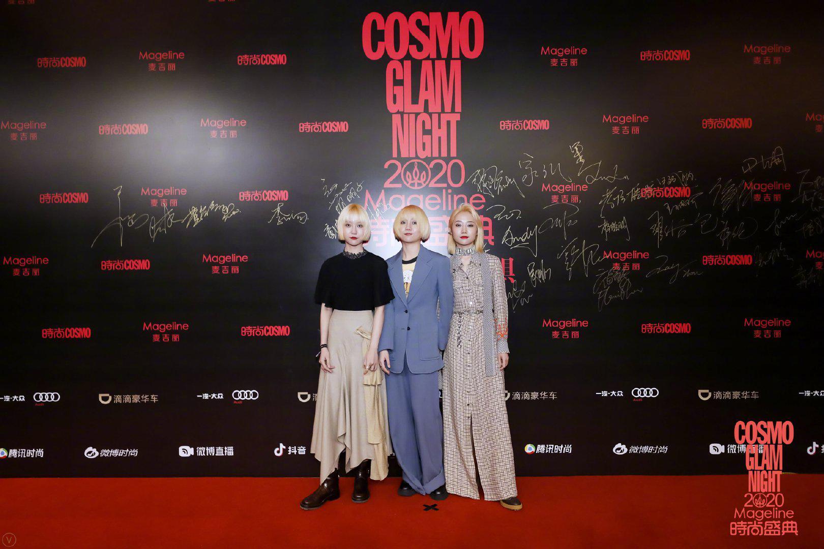2020 @福禄寿FloruitShow 为2020COSMO时尚盛典创作的推广曲《FEARLESS》