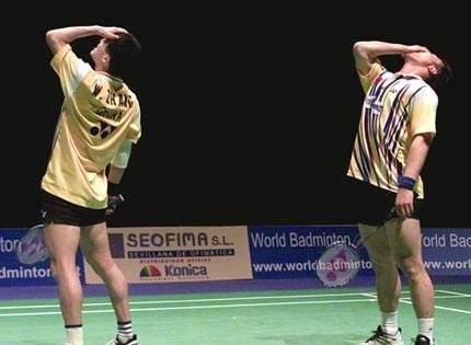43岁国羽世界冠军罕见参赛,携手李雪芮对战林丹,曾被国家队开除