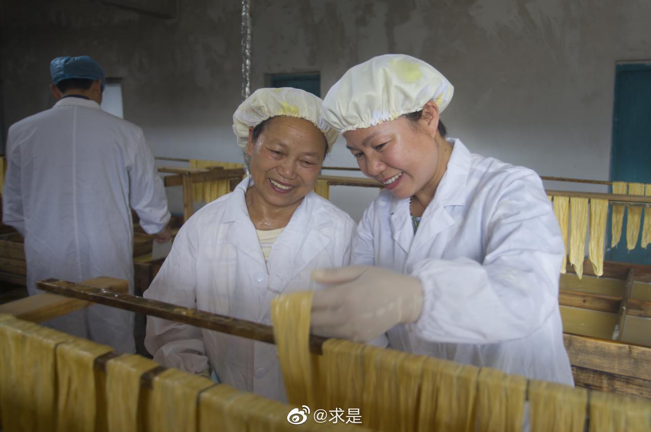 清流:豆腐皮专业合作社助力农户脱贫致富