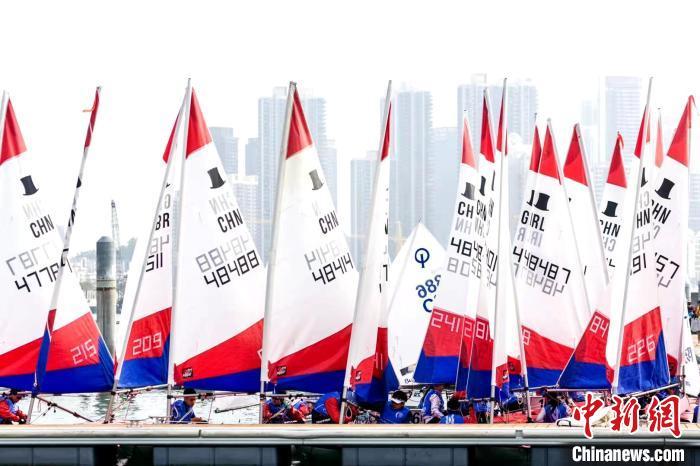2020中国杯青少年帆船赛在深圳开赛