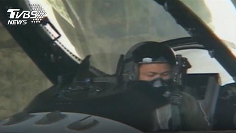 资料图:飞行员蒋正志(TVBS)